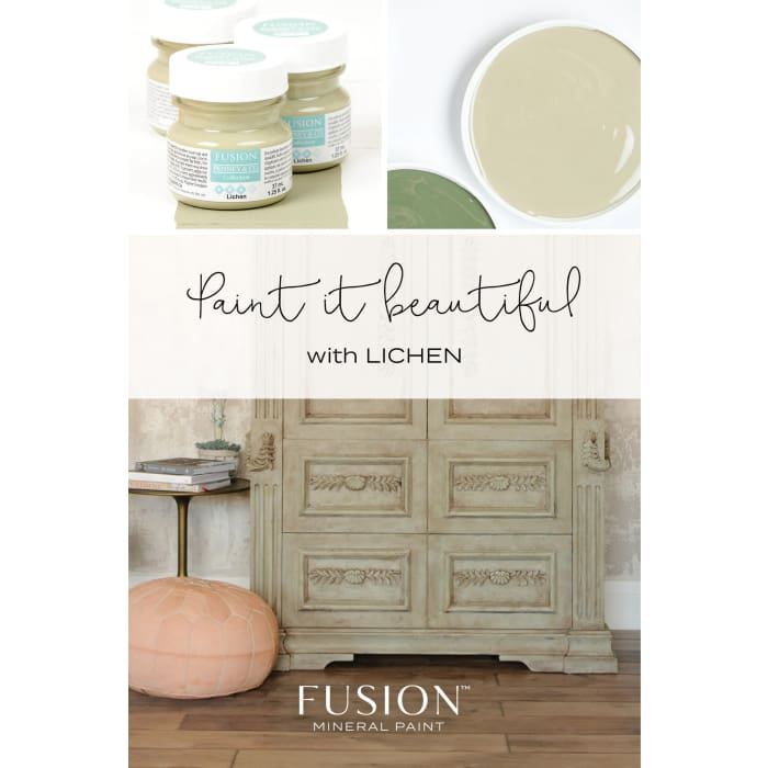 FUSION MINERAL PAINT (Tester - 37 ml) | Lichen | PAINT | $5.00