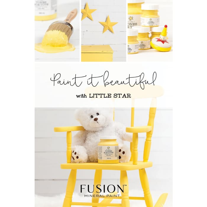 FUSION MINERAL PAINT (Tester - 37 ml) | Little Star | PAINT | $5.00
