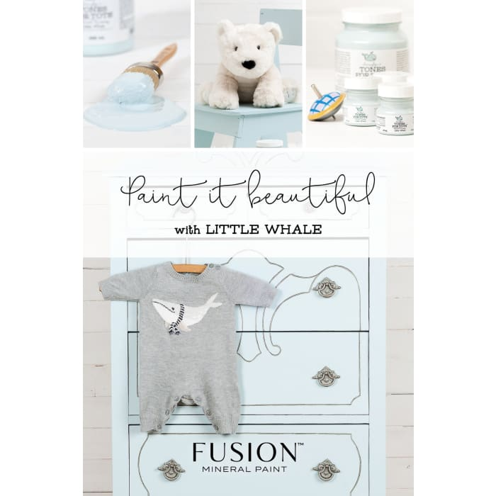 FUSION MINERAL PAINT (Tester - 37 ml) | Little Whale | PAINT | $5.00