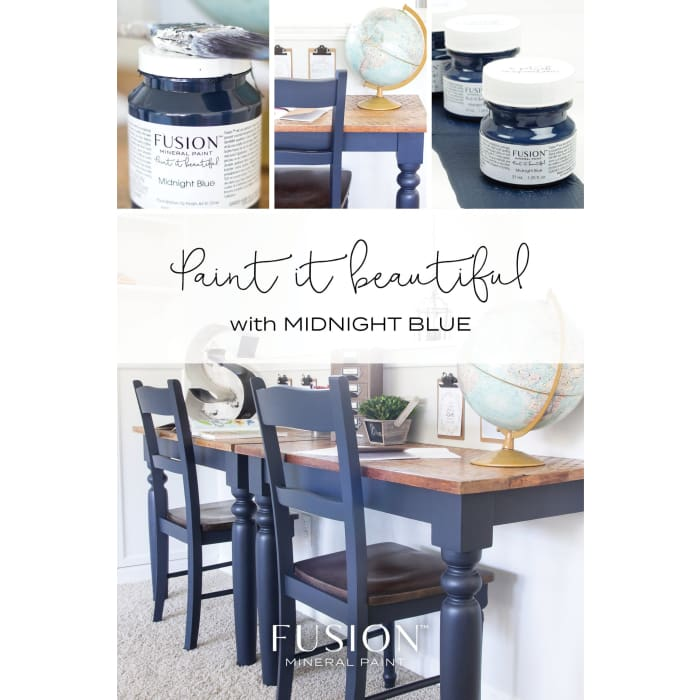 FUSION MINERAL PAINT (Tester - 37 ml) | Midnight Blue | PAINT | $5.00