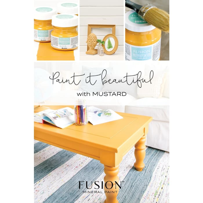 FUSION MINERAL PAINT (Tester - 37 ml) | Mustard | PAINT | $5.00