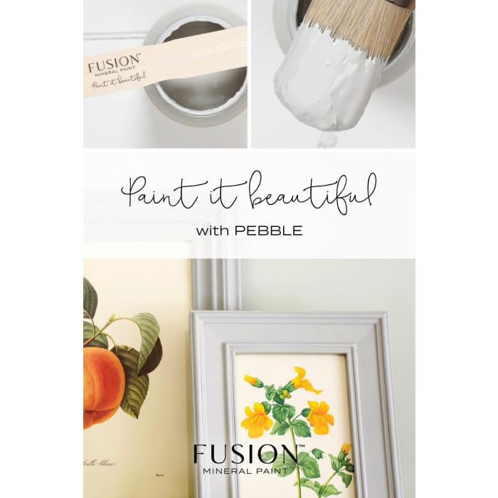 FUSION MINERAL PAINT (Tester - 37 ml) | Pebble | PAINT | $5.00