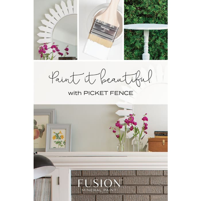FUSION MINERAL PAINT (Tester - 37 ml) | Picket Fence | PAINT | $5.00