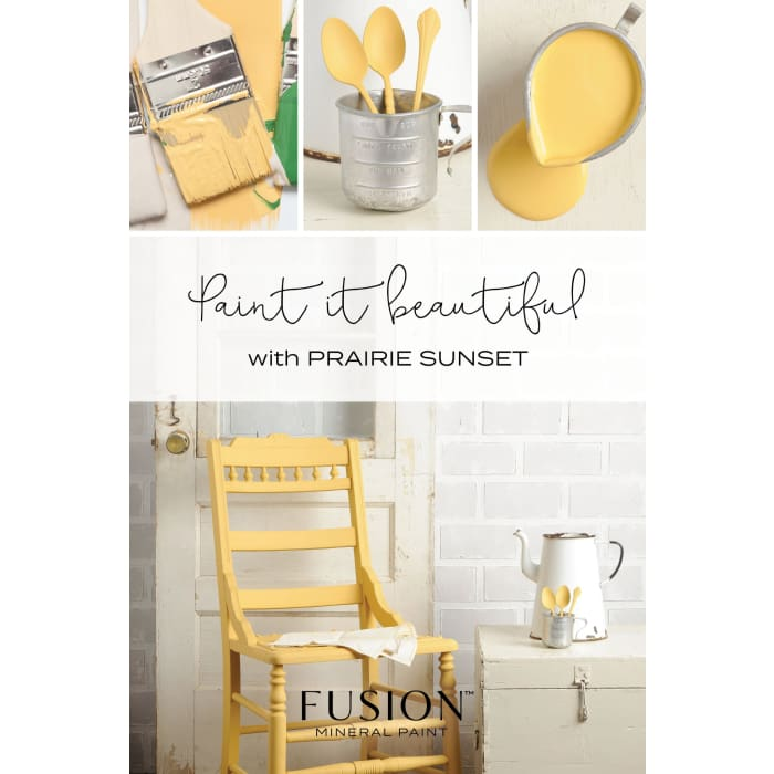 FUSION MINERAL PAINT (Tester - 37 ml) | Prairie Sunset | PAINT | $5.00