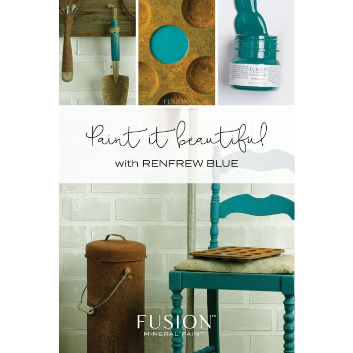 FUSION MINERAL PAINT (Tester - 37 ml) | Renfrew Blue | PAINT | $5.00