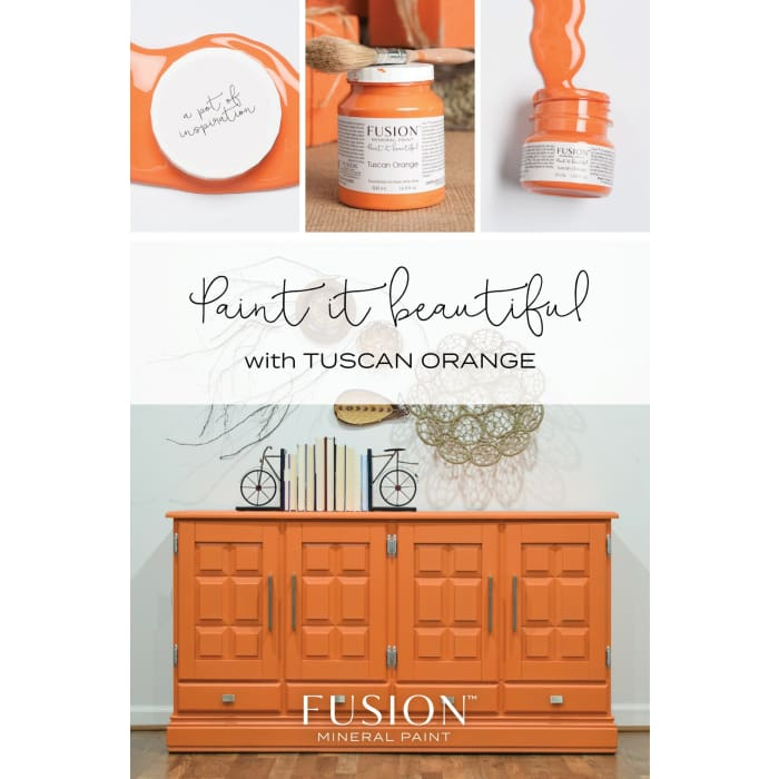 FUSION MINERAL PAINT (Tester - 37 ml) | Tuscan Orange | PAINT | $5.00