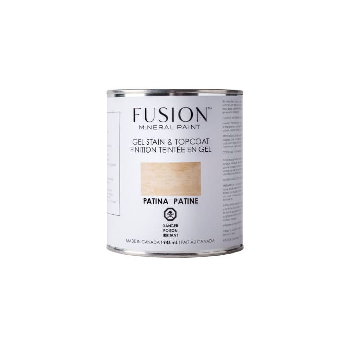 Gel Stain & Topcoat | Patina | FUSION MINERAL PAINT | $40.00