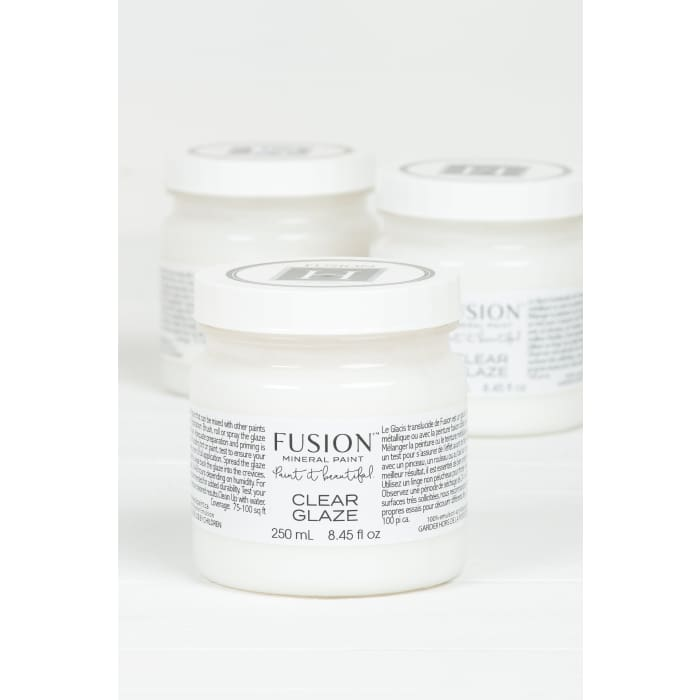 Glaze | Clear | FUSION MINERAL PAINT | $20.00