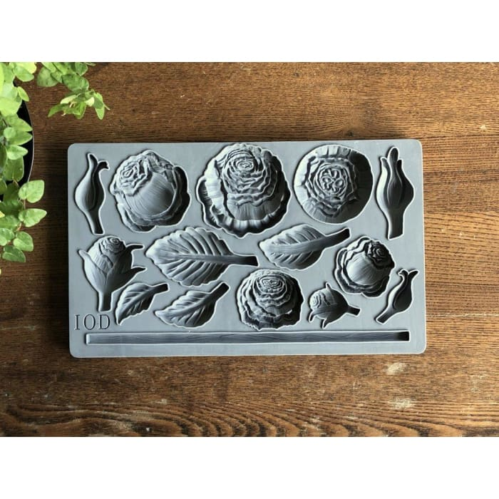 Heirloom Roses Decor Mould | MOULDS | $28.00