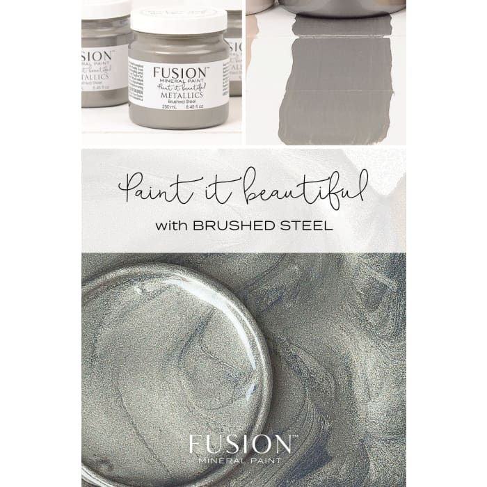 Metallics | Brushed Steel 37ml | PAINT | $11.00