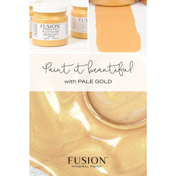 Metallics | Pale Gold 37ml | PAINT | $11.00
