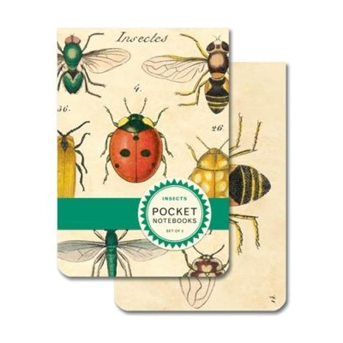 Pocket Notebooks | Insects | cavallini | $7.00