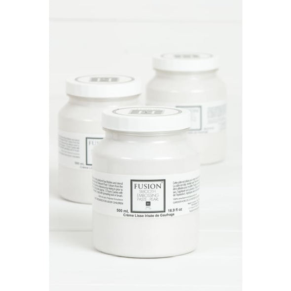Smooth Embossing Paste - Pearl | FUSION MINERAL PAINT | $15.00