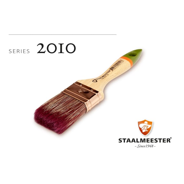 Staalmeester Brushes | #10 Flat | FUSION MINERAL PAINT | $12.00