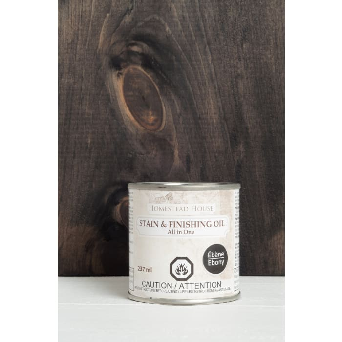 STAIN AND FINISHING OIL (SFO) | Ebony | FUSION MINERAL PAINT | $25.00