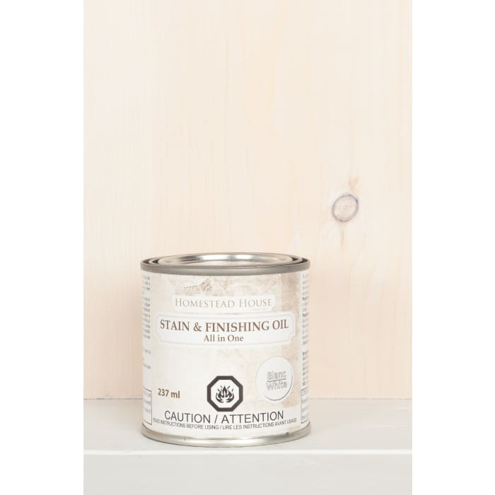 STAIN AND FINISHING OIL (SFO) | White | FUSION MINERAL PAINT | $25.00