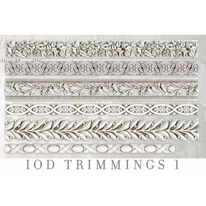 Trimmings 1 Decor Mould | MOULDS | $28.00