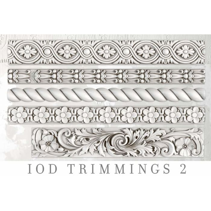 Trimmings 2 Decor Mould | MOULDS | $28.00