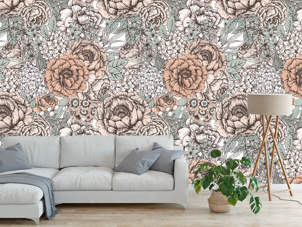8 Big & Beautiful Botanical Wall Ideas for Summer
