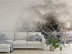 Dreamy Dandelion Peel and Stick Wallpaper