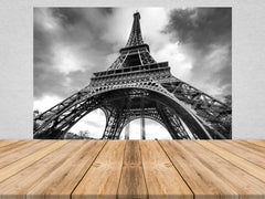 Eiffel Tower Peel and Stick Wallpaper