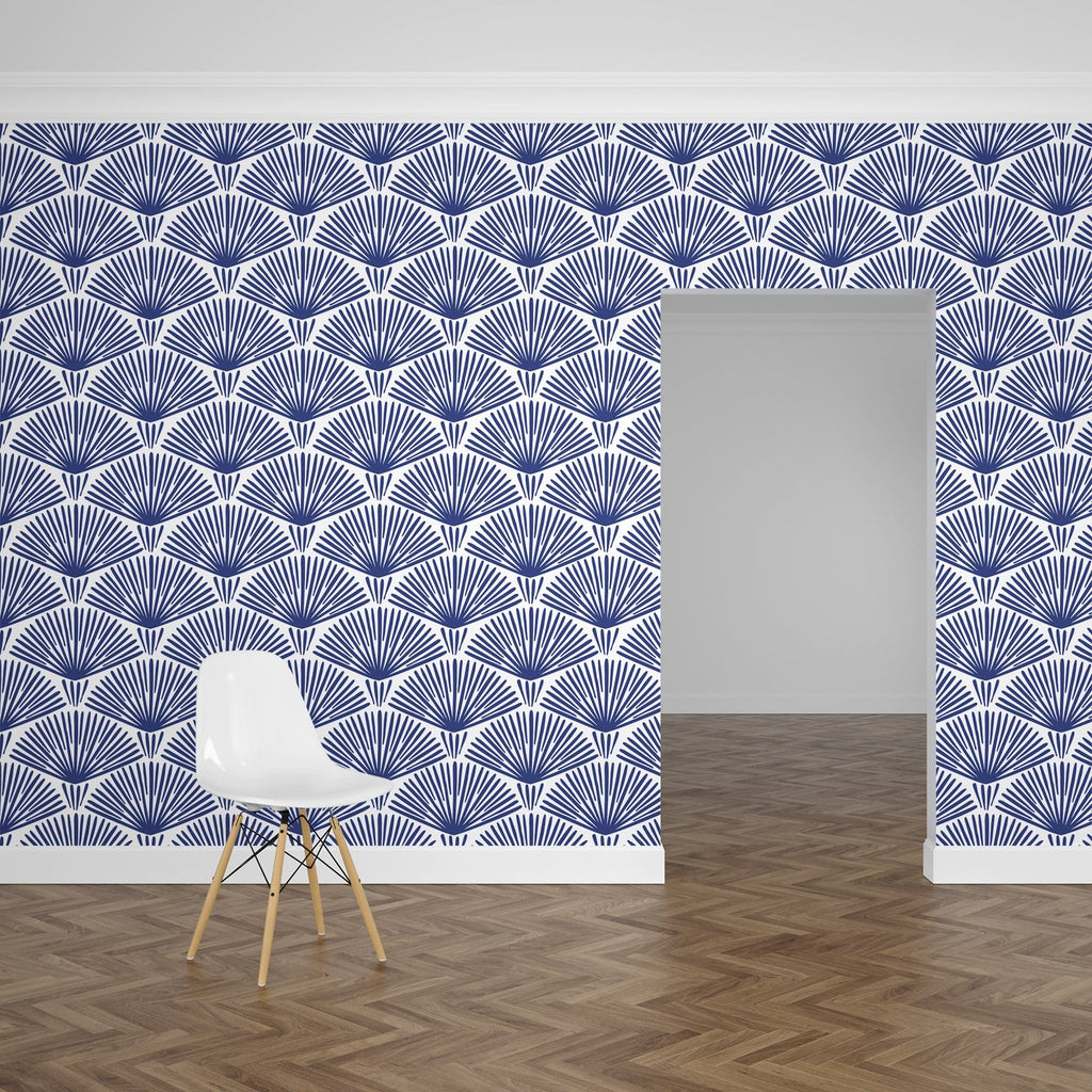 Blue Grove Peel and Stick Wallpaper