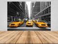 City Cab Peel and Stick Wallpaper