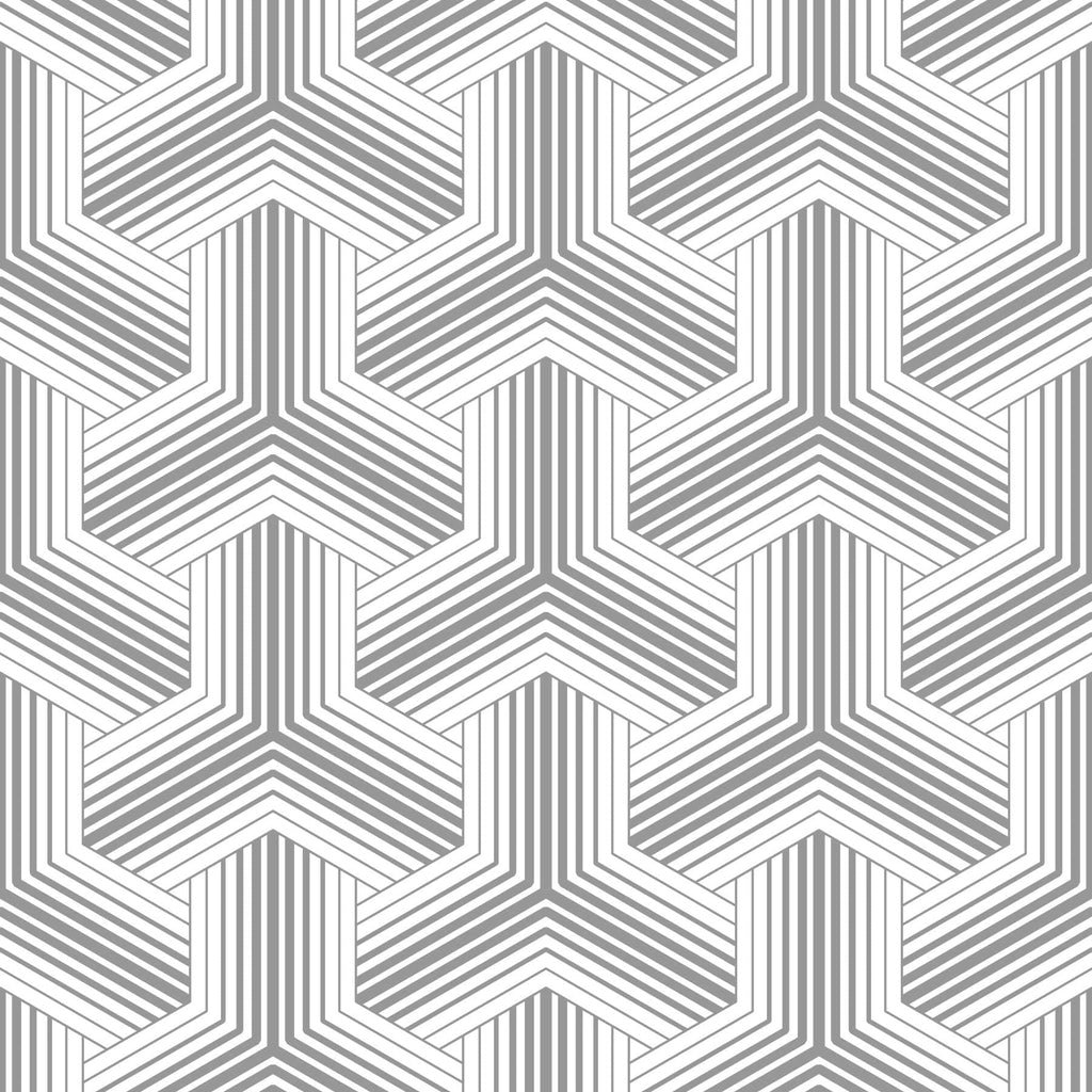gray and white basketweave pattern peel and stick wallpaper