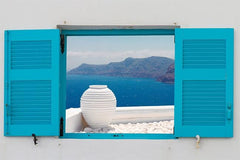 Window in Greece