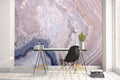 Grey Geode Mural Peel and Stick Wallpaper