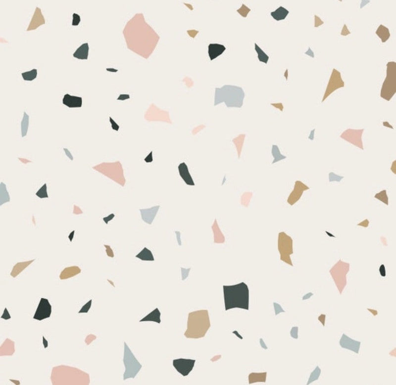 Terrazzo Peel and Stick Wallpaper