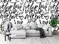 Love Notes Peel and Stick Wallpaper