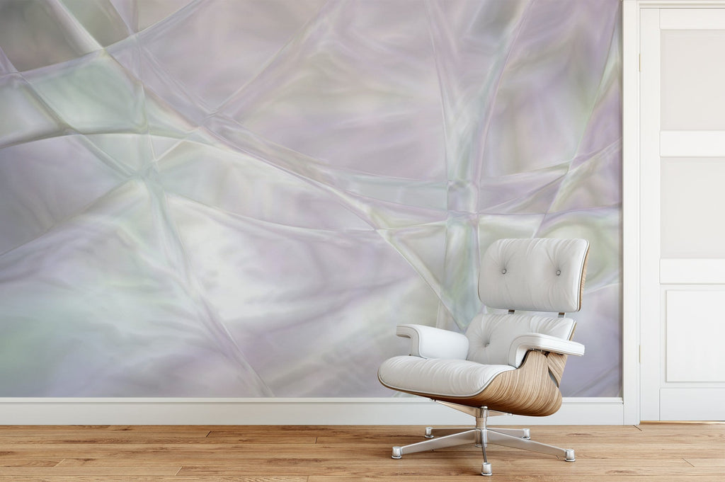 Mother of Pearl Mural Peel and Stick Wallpaper