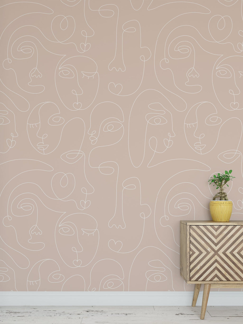 Nude Commune Peel and Stick Wallpaper