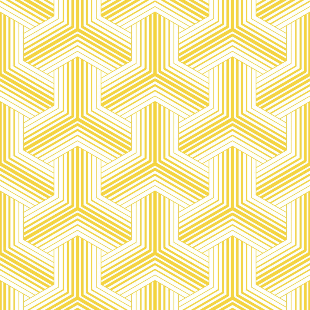 yellow  and white basketweave pattern peel and stick wallpaper