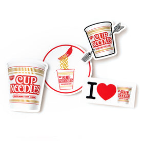 CUP NOODLES STICKER VARIETY PACK