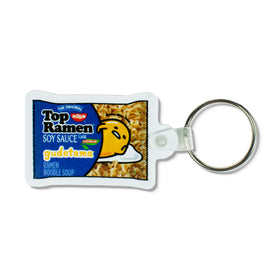 GUDETAMA X TOP RAMEN PILLOW KEYCHAIN