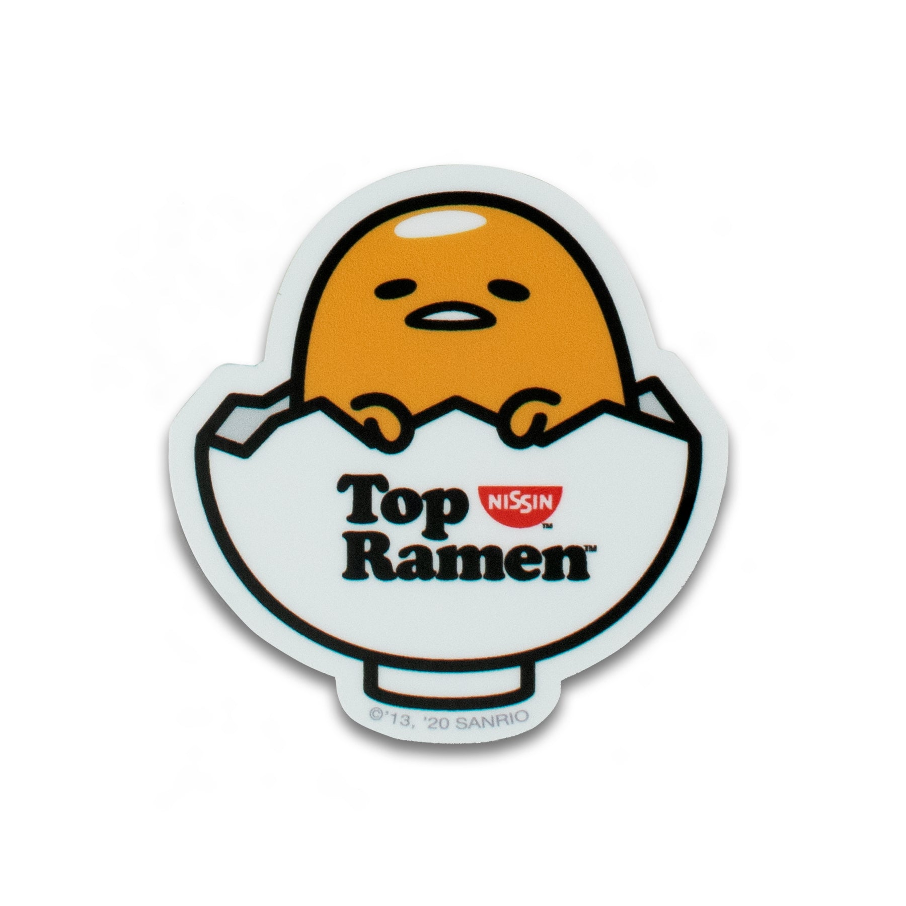 GUDETAMA X TOP RAMEN STICKER PACK #2
