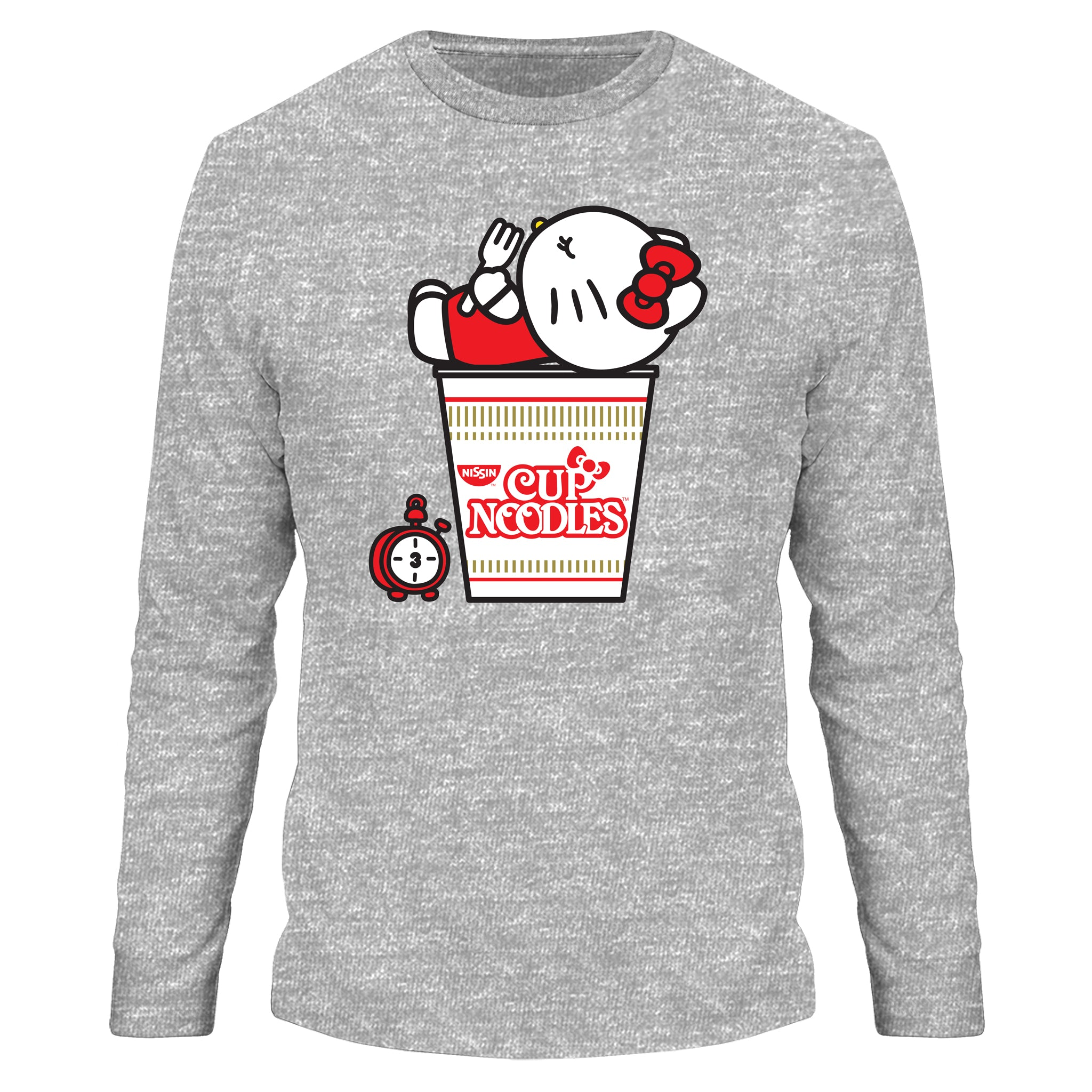 Cup Noodles X Hello Kitty long-sleeved T-shirt