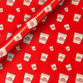 CUP NOODLES WRAPPING PAPER (RED)