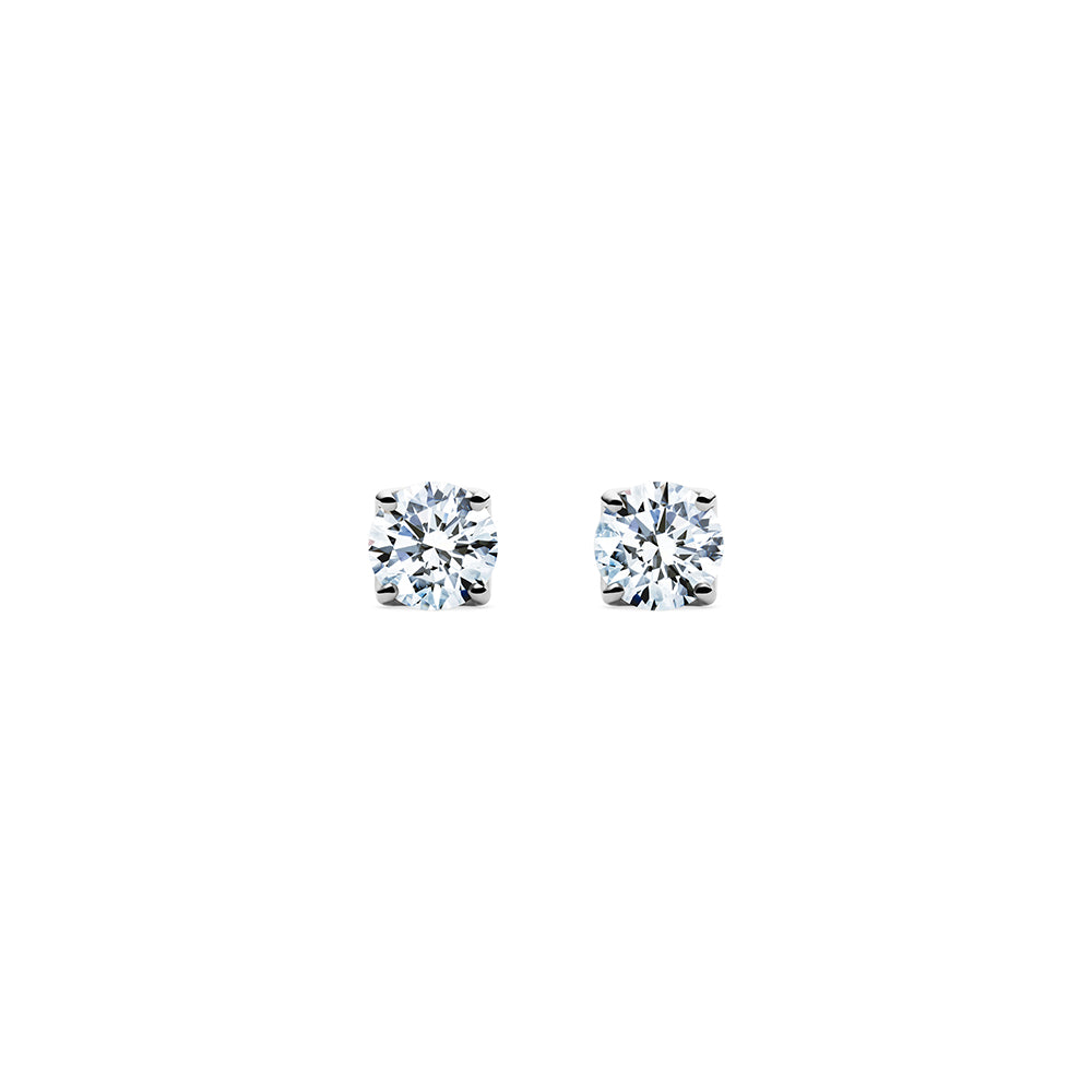 Aurora Diamond Studs VS - Platinum | Godavari Diamonds