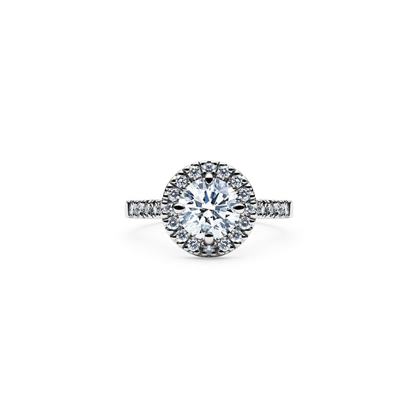 Solaris Diamond Ring - Platinum
