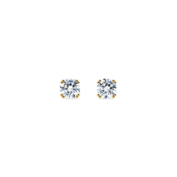 Skagi Diamond Studs Si - 18k Gold