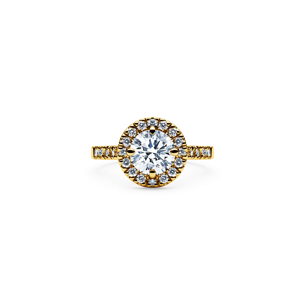 Solaris Diamond Ring - 18k Gold