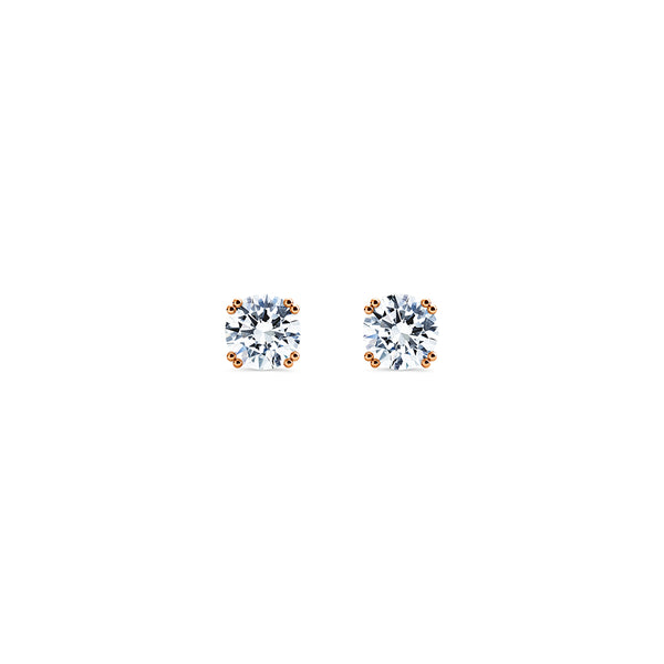 Skagi Diamond Studs Si - 18k Rose Gold