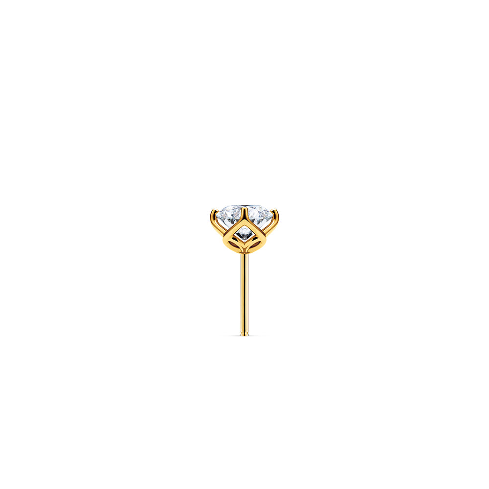 Aurora Diamond Studs VS - 18k Gold | Godavari Diamonds