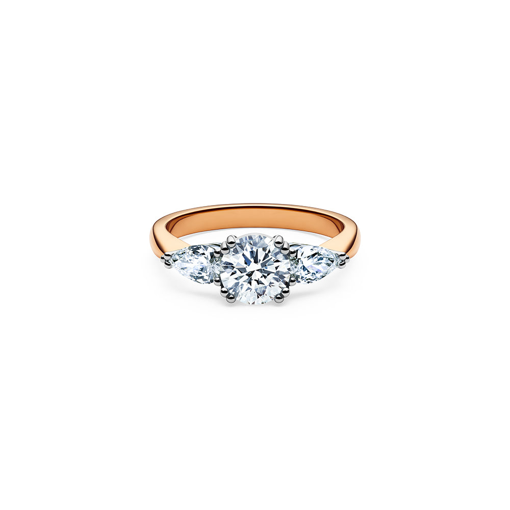 Skagi Diamond Ring - 18k Rose Gold