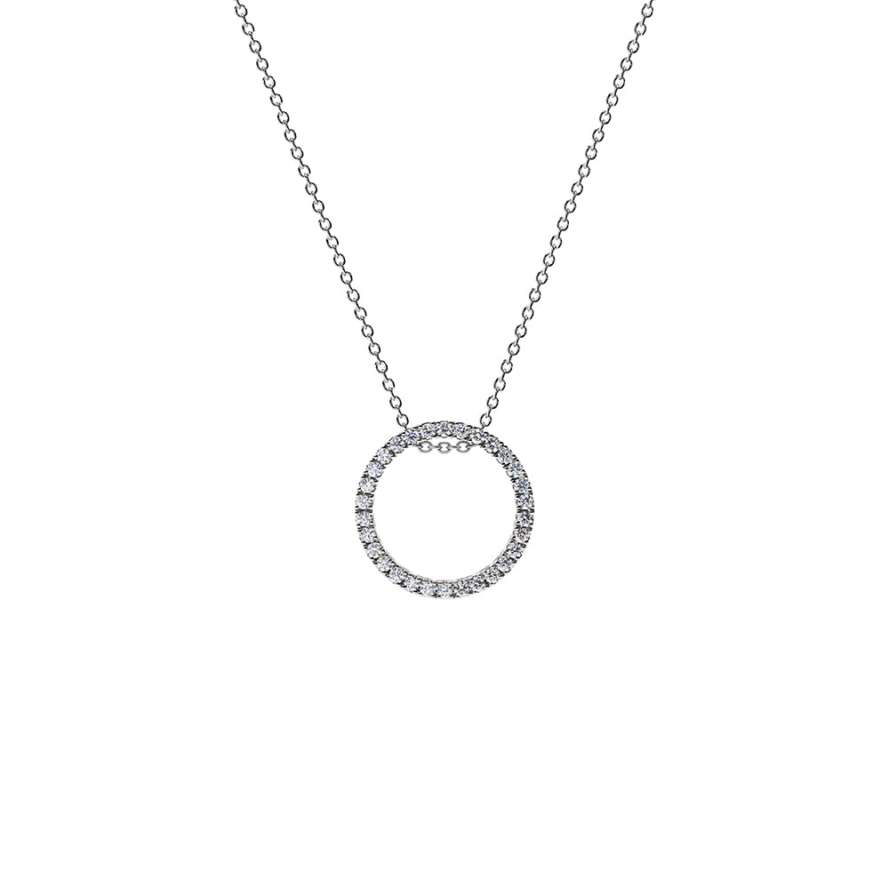 Solaris Necklace - Platinum