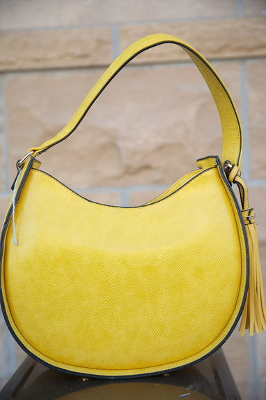 Banana Color Bucket Purse