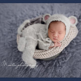 KNITTED MOUSE COSTUME SUIT PHOTO PROP UK